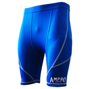 Ampro Junior Performance Base Layer Shorts – Blue