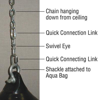 Aqua Punching Bag Hanging Kit