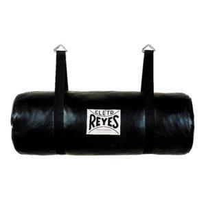 Cleto Reyes Leather Uppercut Barrel Training Bag – Black [Unfilled]