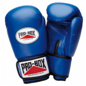 Pro-Box 'Base Spar' Junior Sparring Glove – Blue x 5