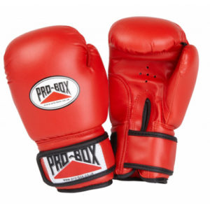 Pro Box 'Base Spar' Junior Sparring Glove – Red x 5
