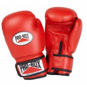 Pro-Box 'Base Spar' Junior Sparring Glove – Red x 5