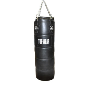 Tuf-Wear Leather Quilted Punchbag 4FT – Black