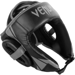 Venum Challenger Open Face Headguard – Black/Grey