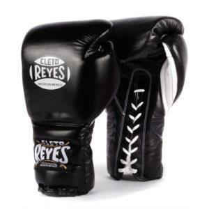Cleto Reyes Lace Up Sparring Gloves – Black