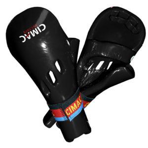 Cimac Double Piece Dipped Foam Punch – Black