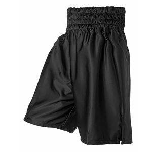 Plain Black Boxing Shorts