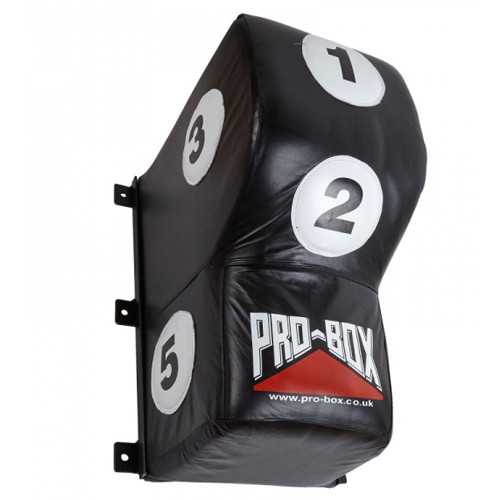 Pro-Box 'Black Collection' Leather Wall Pad – Black/White