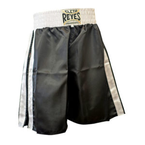 Cleto Reyes Boxing Shorts – Black/White