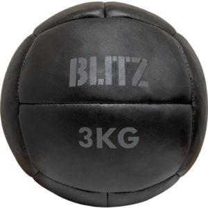 Blitz Boulder Medicine Ball – Black [3kg, 5kg, 8kg or 10kg]