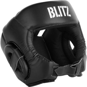Blitz Club Semi Contact Head Guard – Black