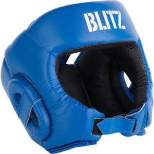 Blitz Club Semi Contact Head Guard – Blue