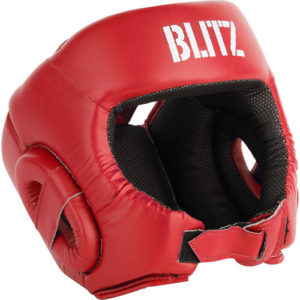 Blitz Club Semi Contact Head Guard – Red