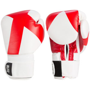 Blitz Kids 10oz England Boxing Gloves – Red/White [St George's Flag]