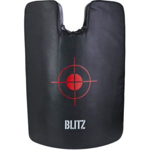 Blitz Full Size Riot Strike Shield – Black