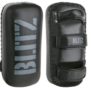 Blitz Fury Curved Thai Pads – Black