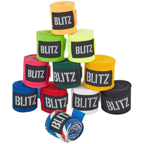 Blitz 180″ Adult Hand Wraps – Black
