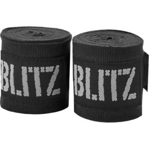 Blitz 180″ Adult Hand Wraps – Black