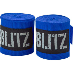 Blitz 180″ Adult Hand Wraps – Blue