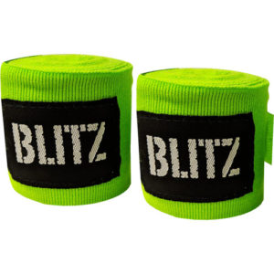Blitz 120″ Kids/Junior Hand Wraps – Neon Green