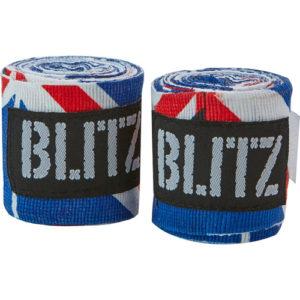 Blitz 180″ Adult Hand Wraps – Union Jack