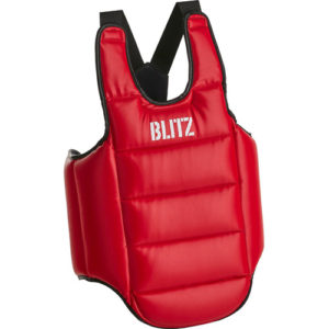 Blitz Intercept Reversible Body Protector – Red and Blue