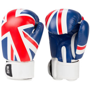 Blitz Kids 6oz UK Boxing Gloves – Red/White/Blue [Union Jack Flag]