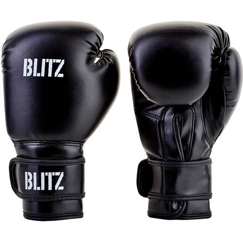 Blitz Kids/Junior Training Boxing Gloves – Black