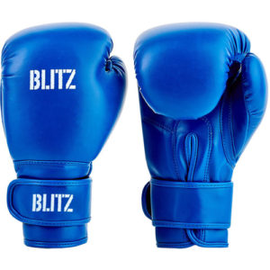 Blitz Kids/Junior Training Boxing Gloves – Blue