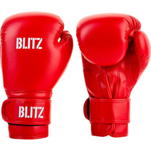 Blitz Kids/Junior Training Boxing Gloves – Red