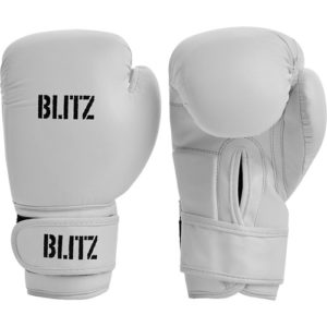 Blitz Kids/Junior Training Boxing Gloves – White