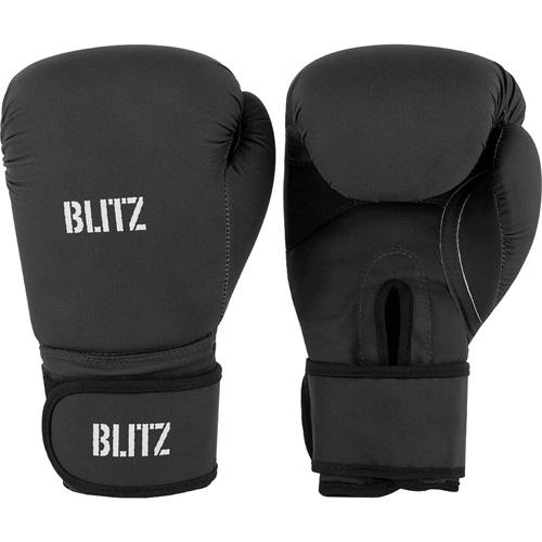 Blitz Odyssey Washable Boxing Gloves – Black