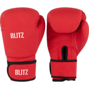 Blitz Odyssey Washable Boxing Gloves – Red