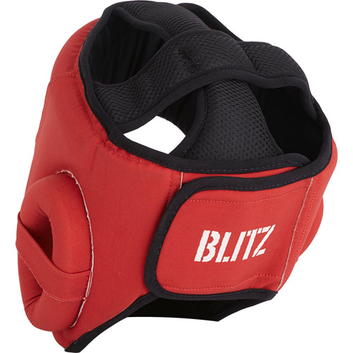 Blitz Odyssey Washable Head Guard – Red
