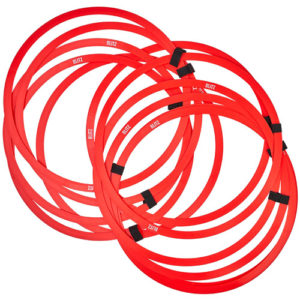 Blitz Speed Agility Hoops – Red