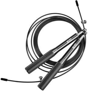 Blitz Adjustable Training Skipping Rope – Black