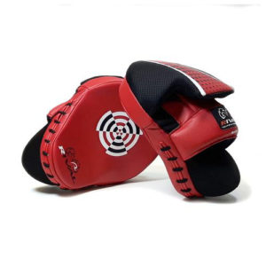 Rival High Performance Signature Series Punch Mitts – Black/Red