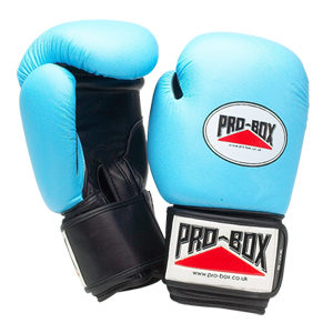 Pro-Box Women's Leather Training Gloves – Blue