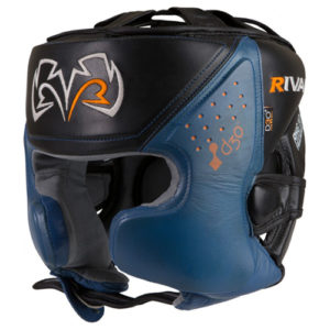 Rival RHG10 INTELLI-SHOCK Headgear – Blue/Black