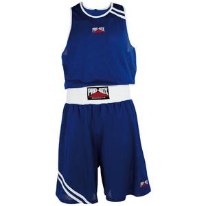 Pro-Box Club Boxing Vest and Short Set – White