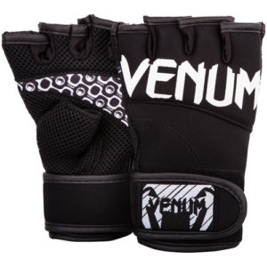 Venum Essential Bodycombat Fitness Gloves – Black/White