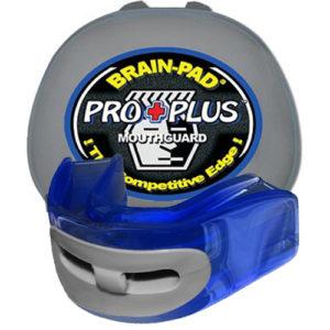 Brain-Pad Pro+ Air Junior/Kids High Performance Double Mouthguard – Blue/Grey