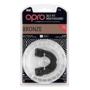 OPRO shield Junior Bronze Mouthguard GEN3 – Black