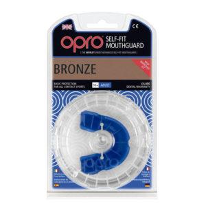 OPRO shield Junior Bronze Mouthguard GEN3 – Blue