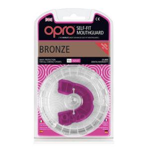 OPRO shield Junior Bronze Mouthguard GEN3 – Pink