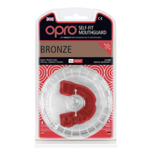 OPRO shield Bronze Mouthguard GEN3 – Red