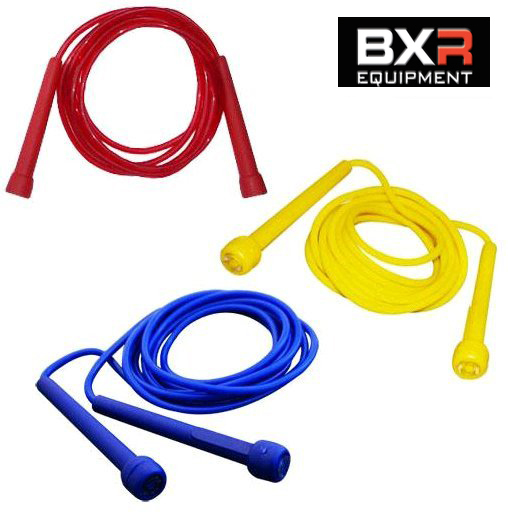 BXR Nylon Jump Rope – 10ft [Red, Blue or Yellow]