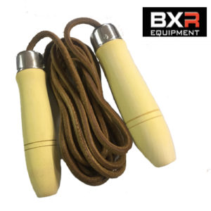BXR Leather Skipping Rope – 10ft