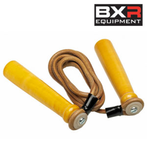BXR Leather Skipping Rope [7ft, 8ft, 9ft or 10ft]