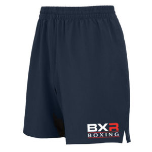 BXR Boxing Lightweight Training Shorts – Navy [Junior & Adults]